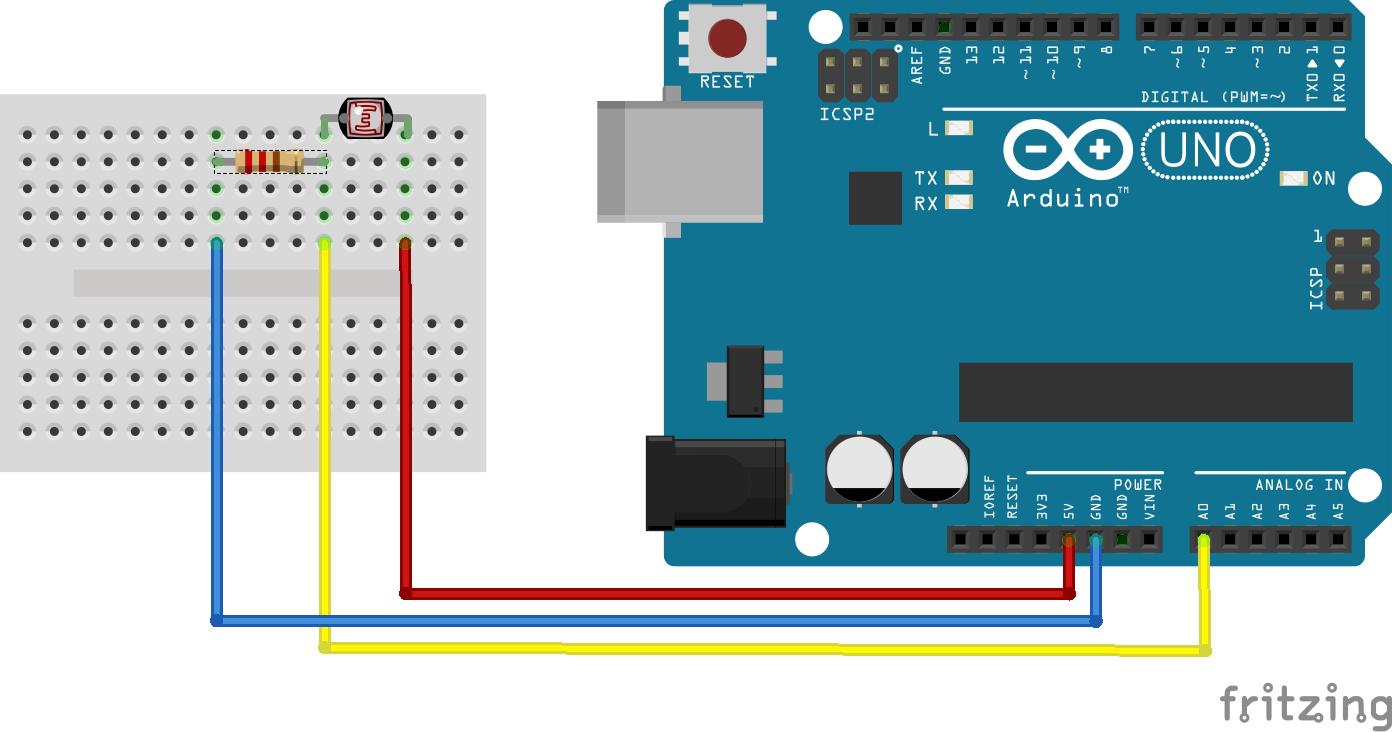 Arduino basics LDR