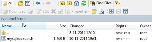 MySQL backup script WinSCP 01