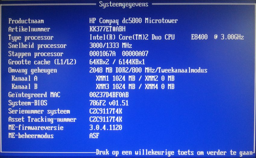 hp dc5800 bios upgrade 01