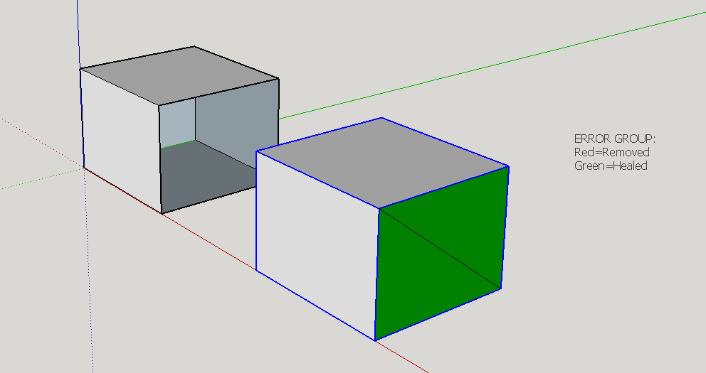 sketchup plugin - manifold