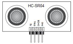 HC-SR04 Sensor Pinout