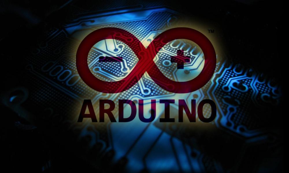 arduino logo donker