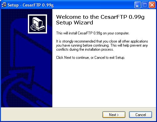 cesarftp_installatie_01