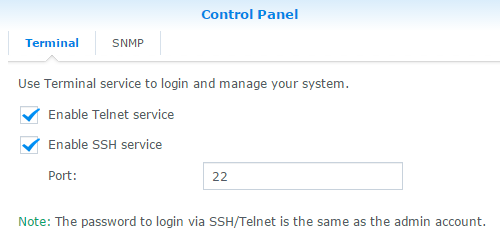 synology_control_panel_ssh