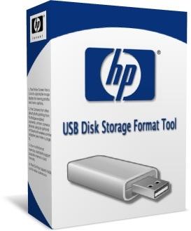 HP USB Disk Storage Format Tool box