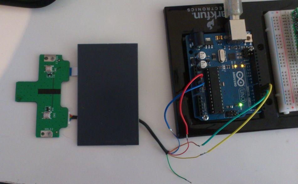 Synaptics 920-000241-02 RevA arduino setup