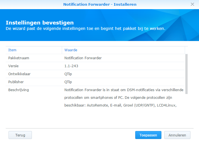 notification forwarder_handmatig_02