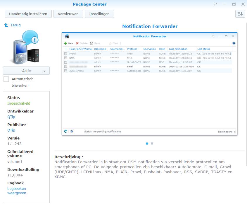 notification forwarder_handmatig_03