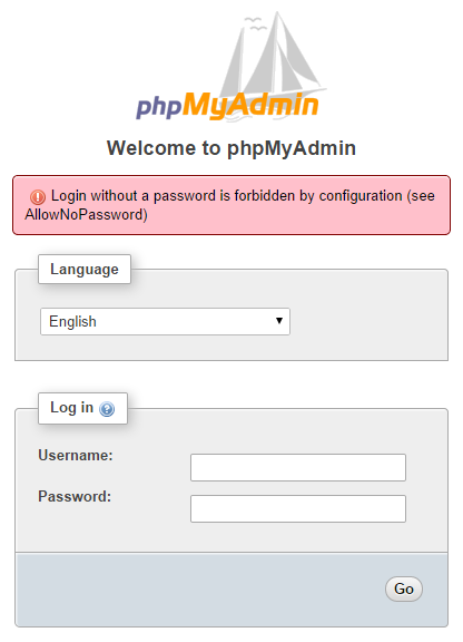 phpmyAdmin geen_wachtwoord_01