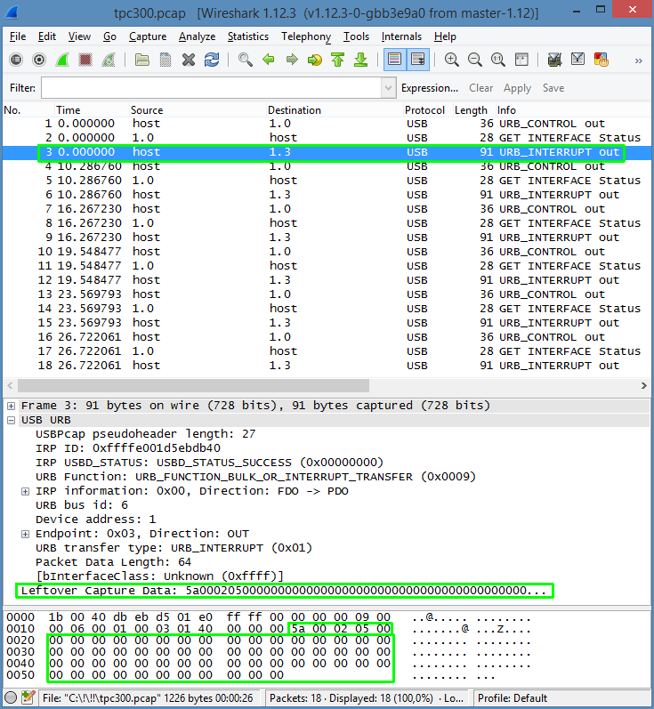 tpc-300_usb_sniffing_wireshark