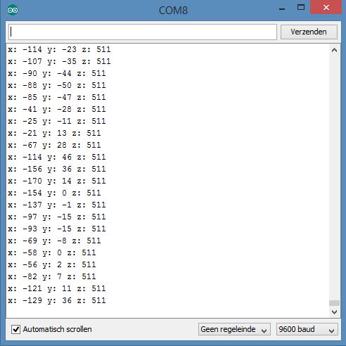 ADXL345 Arduino monitor 02