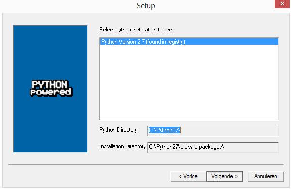 Python Pyserial installatie windows 03