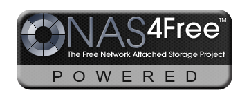 nas4free powered logo