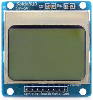 nokia 5110 display