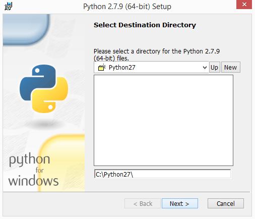 python 2.7.x installatie windows 02