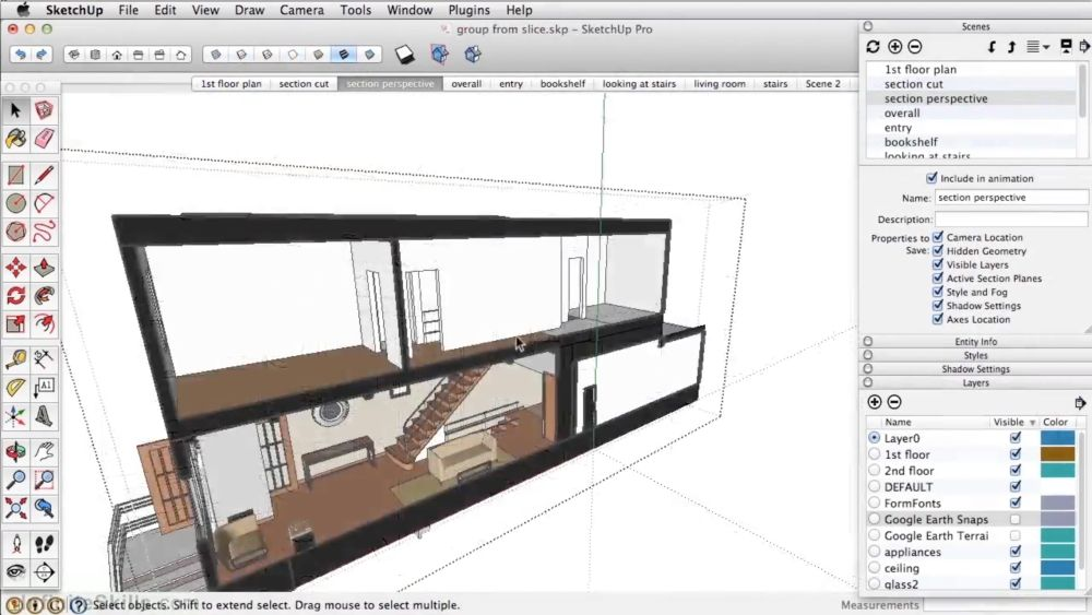 sketchup screen