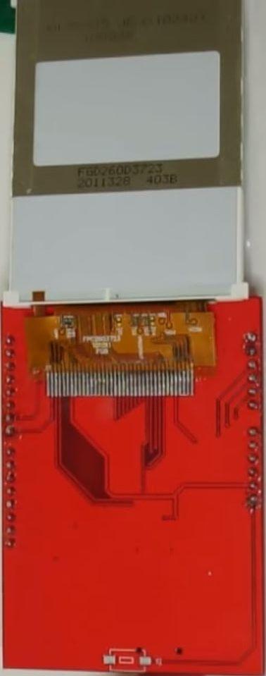 MCUFriend 2.4 inch LCD Shield - ST7781 driver (0x7783) - binnenkant