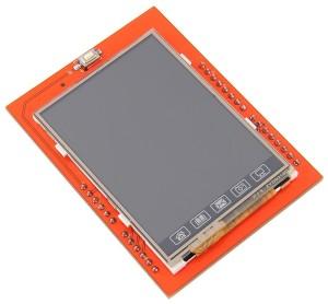 MCUFriend 2.4 inch LCD Shield - bovenkant