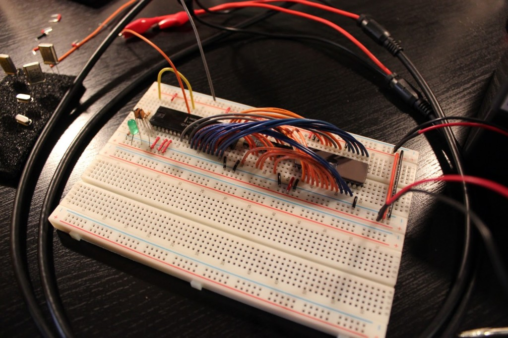 Programming the Vintage Intel MCS-48 Microcontrollers  - Finished Processor EPROM Interface