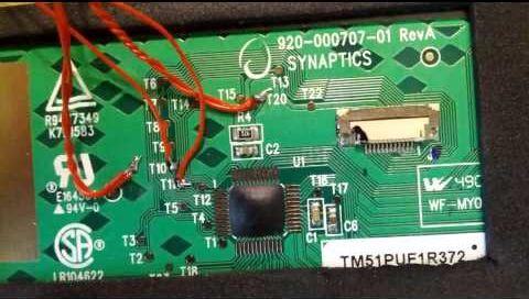 Touchpad Synaptics 920-000707-01 RevA_02