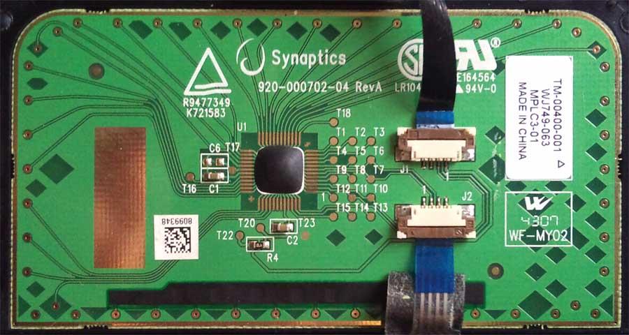 Touchpad Synaptics 920-000720-04 RevA_01