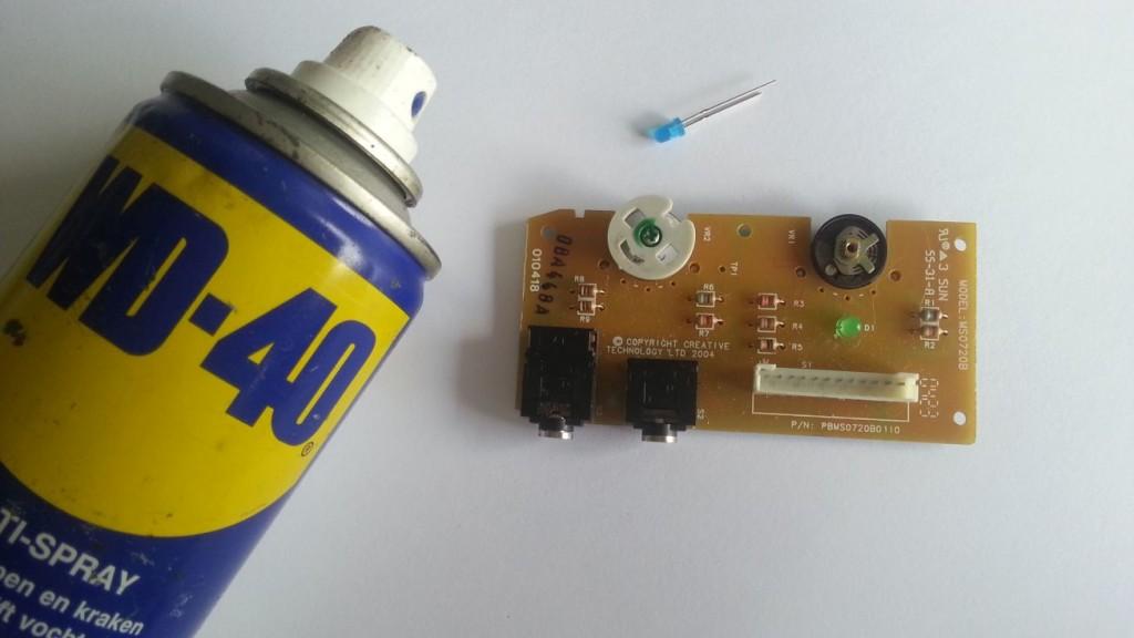 Creative Inspire T7900 - Afstandsbediening demontage 05
