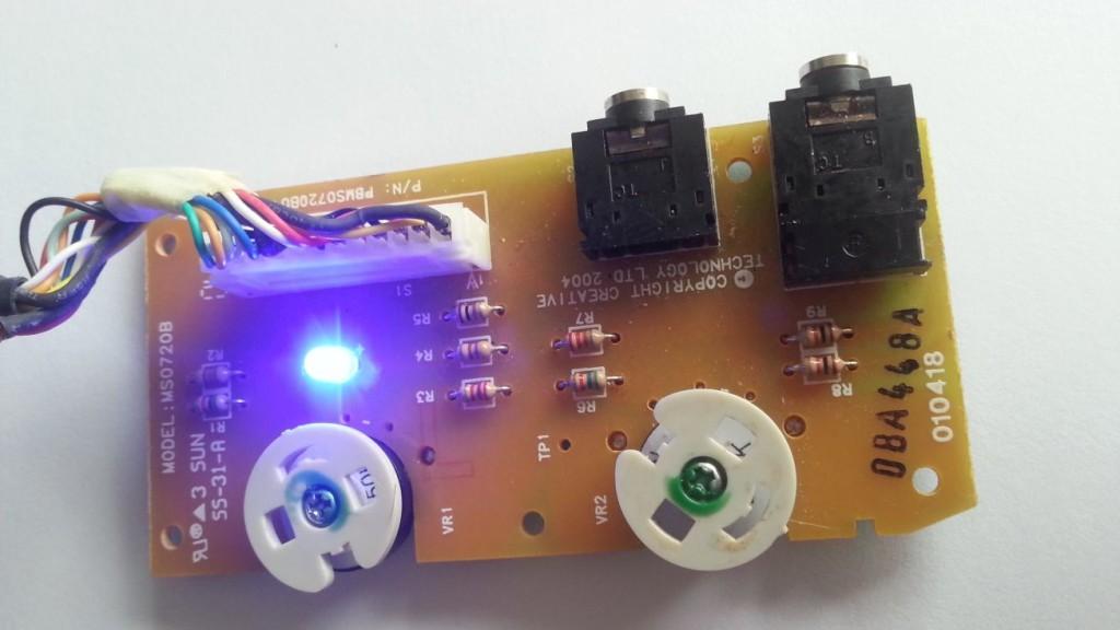 Creative Inspire T7900 - Afstandsbediening demontage 07