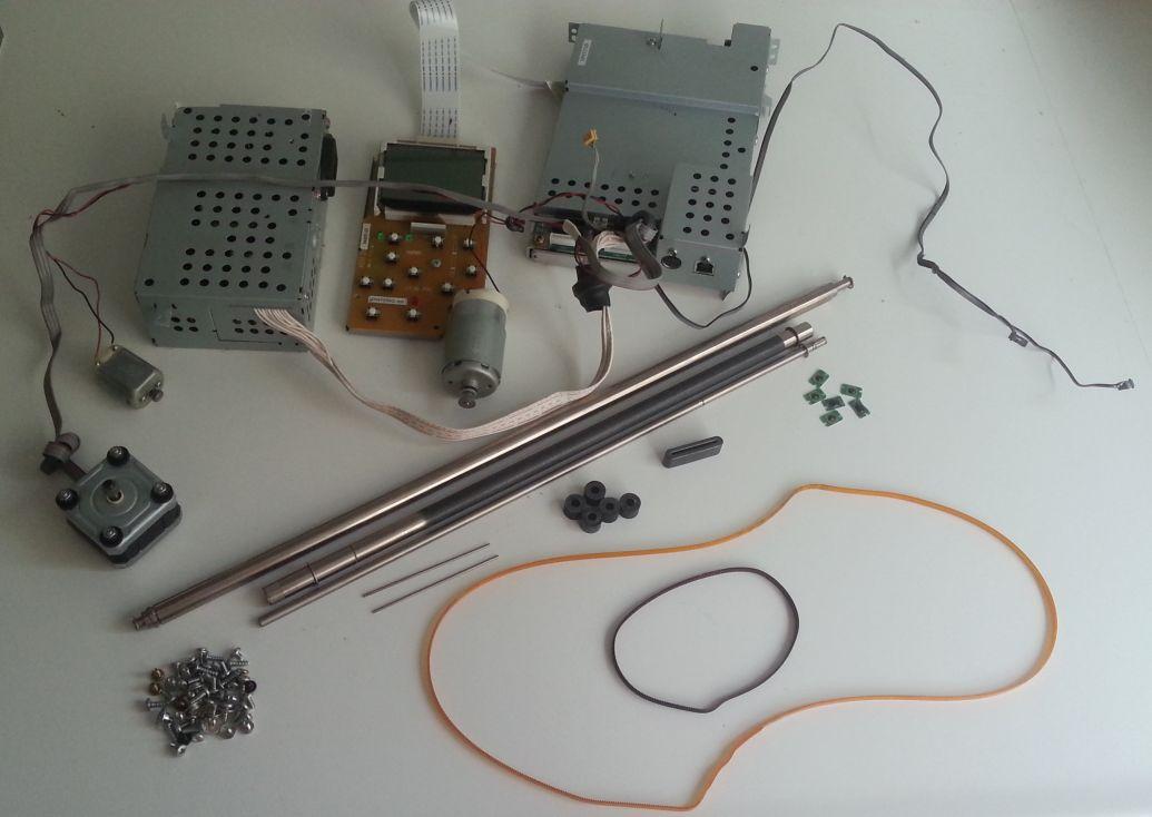 Epson stylus photo R300 - onderdelen