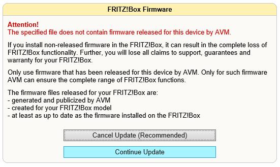 Fritz!Box Fon WLAN 7170 - Telnet toegang 02