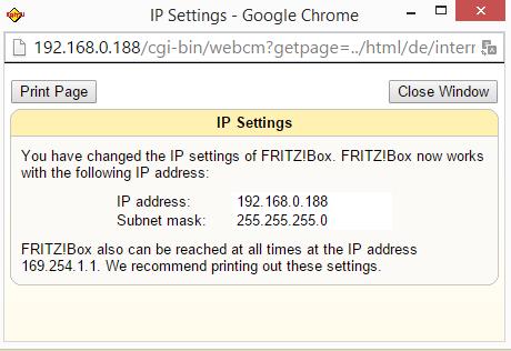 Fritz!Box Fon WLAN 7170 - verbinden met het internet 02