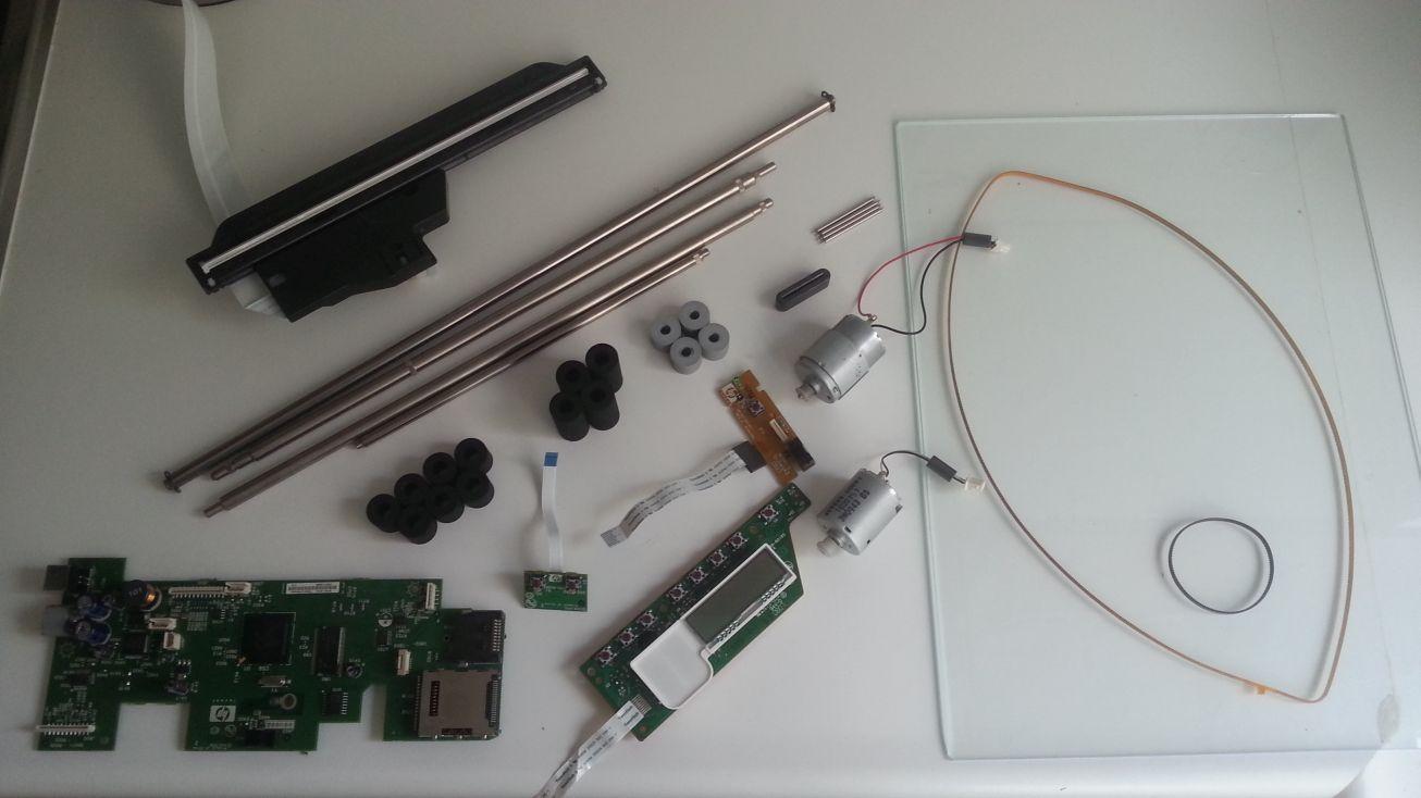 HP Photosmart C3180 - onderdelen