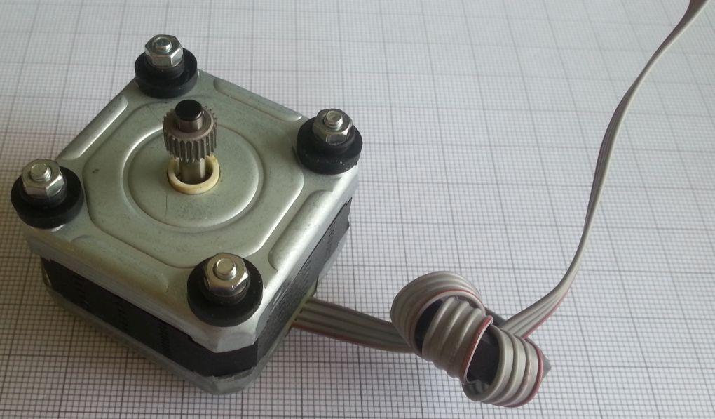 Pinout - Stappenmotor - Epson EM-483 - foto 01