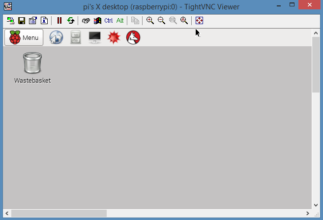 Raspberry Pi - VNC - TightVNC server (verouderd)