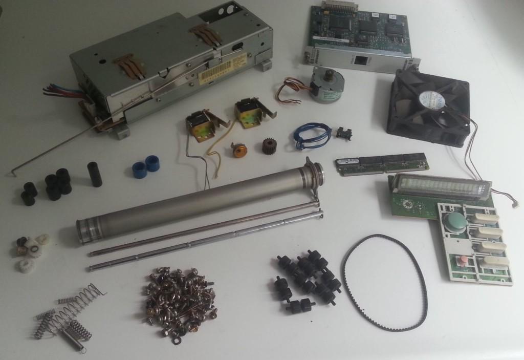 HP laserjet 5 onderdelen