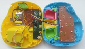 PlayGo piano-telefoon binnenkant