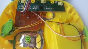 PlayGo piano-telefoon binnenkant close-up