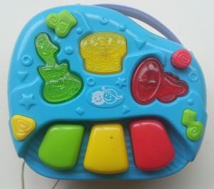 PlayGo piano-telefoon bovenkant piano