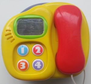 PlayGo piano-telefoon bovenkant telefoon