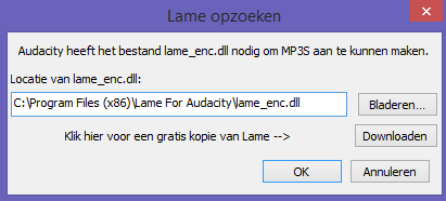 audacity lame mp3 plugin