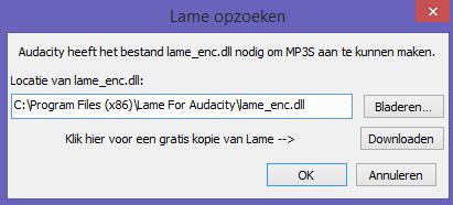 audacity lame mp3 plugin
