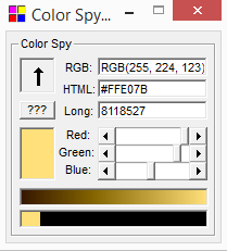 colorspy 3.0 screen