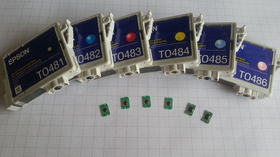 Epson printer catridge chip analyse