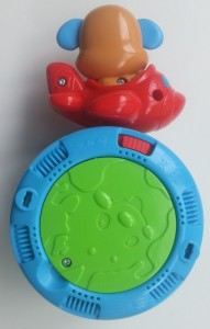 fisher-price puppy kruipbal achterkant