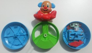fisher-price puppy kruipbal binnenkant