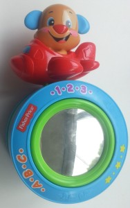 fisher-price puppy kruipbal bovenkant