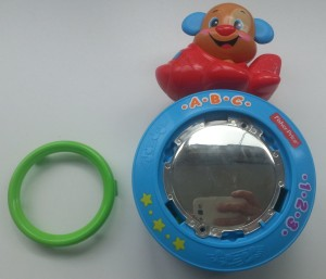 fisher-price puppy kruipbal uitelkaar stap 01