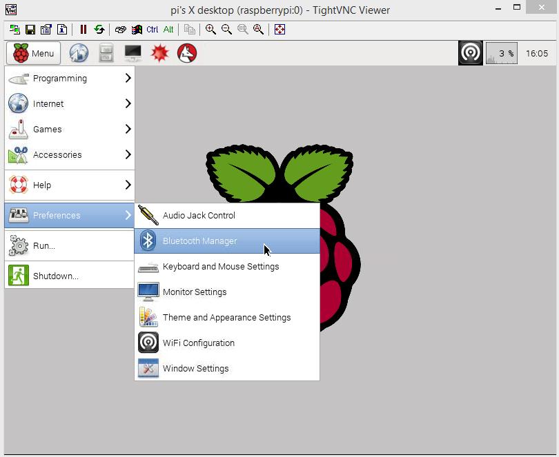raspberry pi bluetooth manager screen 02