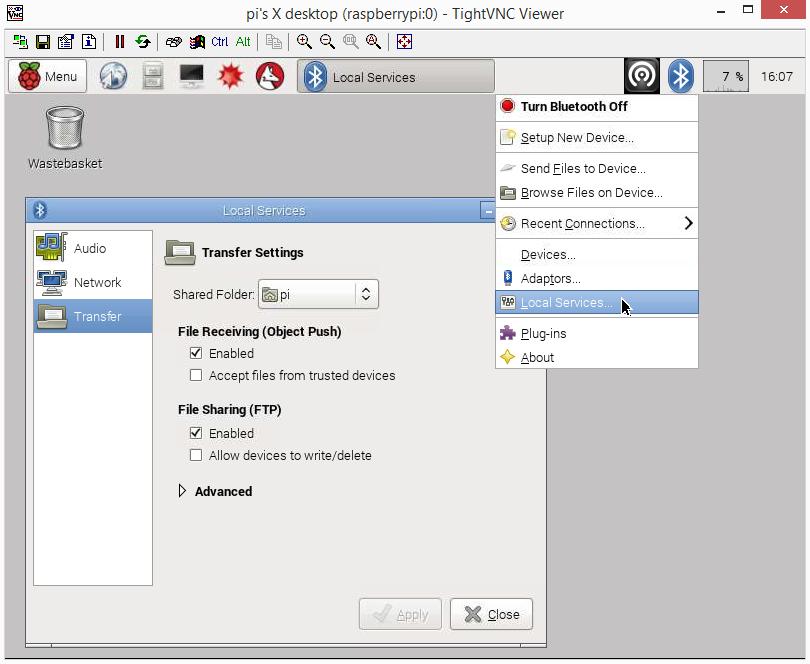 raspberry pi bluetooth manager screen 03