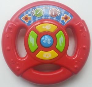 simba toys race stuur bovenkant
