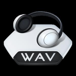 wav music icon